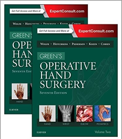 GREENS OPERATIVE HAND SURGERY, 2-VOLUME SET, 7E 7TH EDITION