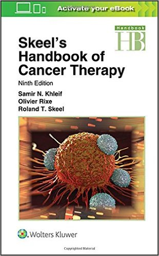 SKEELS HANDBOOK OF CANCER THERAPY