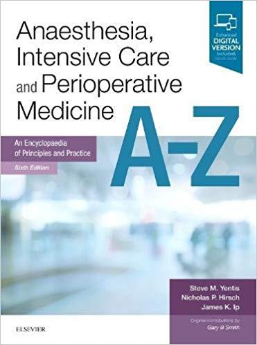 Dilivros anaesthesia intensive care and perioperative medicine a z fandeluxe Image collections